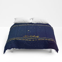 Warden star sign ( The Bone Season) Comforters