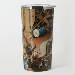 Visions of Hell by Heironymus Bosch Travel Mug