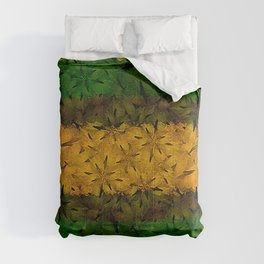 Tribal Floral Pattern Comforters