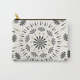 Snowflakes Scandic Nordic Carry-All Pouch