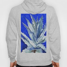 Blue Agave, Succulents, Blue Turquoise green plants design desert plants Hoody