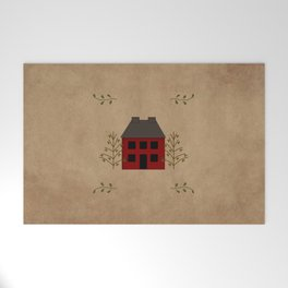 Primitive Country House Welcome Mat