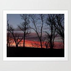 sunrise 2016 Art Print