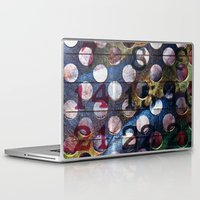 grid Laptop & iPad Skins featuring Grid by Stephen Linhart