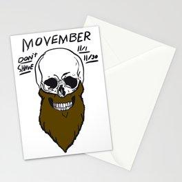 movember Stationery Cards