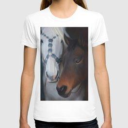 Painted horse portrait T-shirt