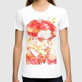 FEDERICO GARCIA LORCA - watercolor portrait T-shirt