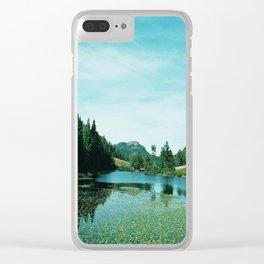 Jordon's Pond Arcadia Clear iPhone Case
