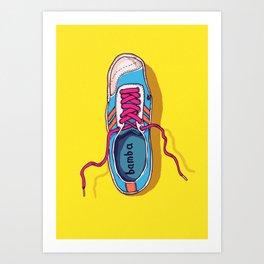 My lovely shoe Art Print