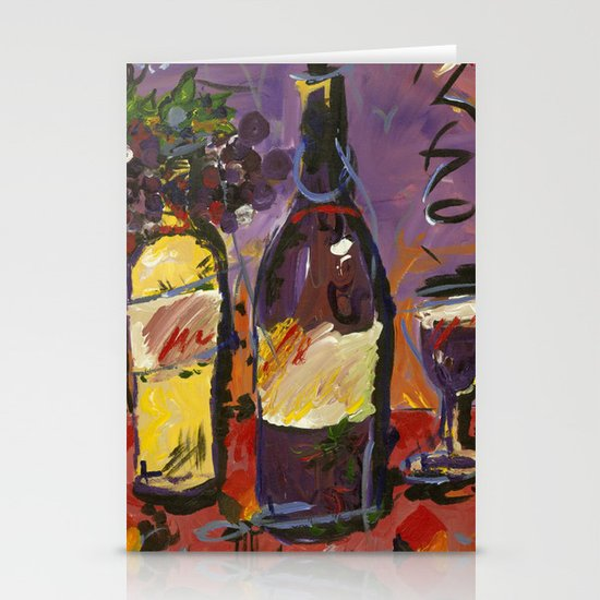 Wine Party  Stationery Cards