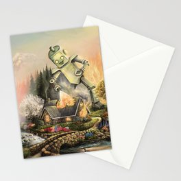 Firelight Cottage Stationery Cards