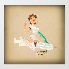 nurse Canvas Print