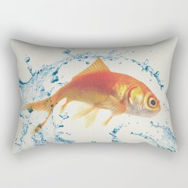 Two Dimensional Freedom Rectangular Pillow