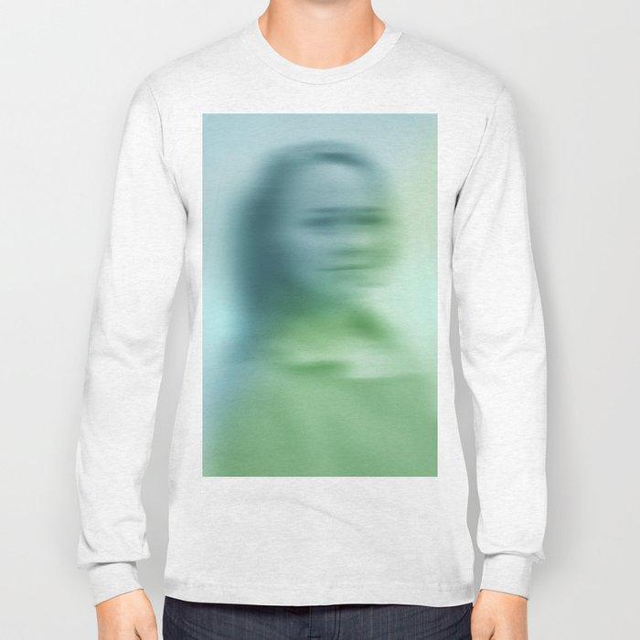 Blurry face Long Sleeve T-shirt