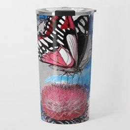 Butterfly I by carographic, Carolyn Mielke Travel Mug