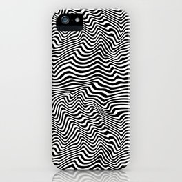 Op Art Stripes iPhone Case