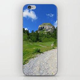 Swiss alpine landscape iPhone Skin