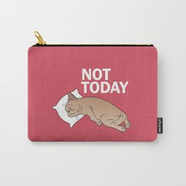 Lazy Frenchie Carry-All Pouch