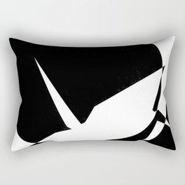 pos&neg Rectangular Pillow