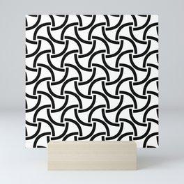 monochrome 99 Mini Art Print