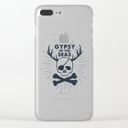 Gypsy Of The Seas Clear iPhone Case
