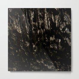 Slimy Wood Metal Print