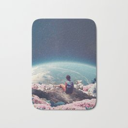 My World Blossomed when I Loved You Bath Mat