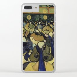 The Dance Hall in Arles Clear iPhone Case
