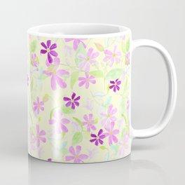 Clematis - Large scale Coffee Mug