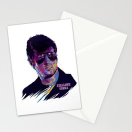 SYLVESTER STALLONE: BAD ACTORS Stationery Cards