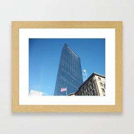 Boston Buildings Framed Art Print