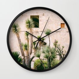 Botanical garden Wall Clock