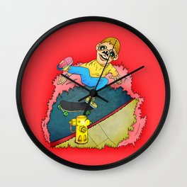 Ollie One-Foot Wall Clock