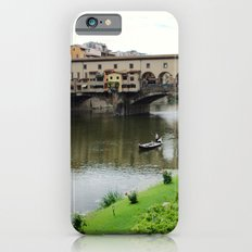 ponte vecchio, florence, italy iPhone 6 Slim Case