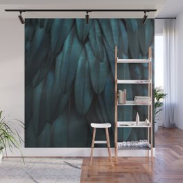 DARK FEATHERS Wall Mural