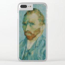 Van Gogh Portrait Clear iPhone Case