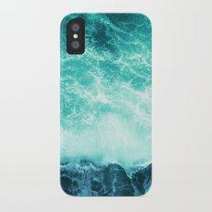 Deep Green Sea Slim Case iPhone X