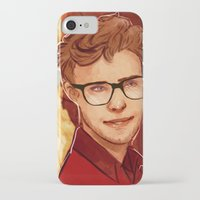 apollo iPhone & iPod Cases featuring Apollo IV by chazstity