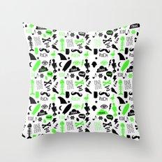 FREE::RIDE Throw Pillow