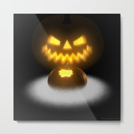 Pumpkin & Co. 2 Metal Print