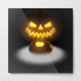 Pumpkin & Co. 2 Metal Print