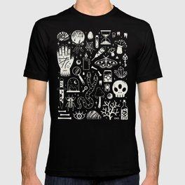 Curiosities: Bone Black T-shirt