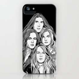 A Band Called Alice iPhone Case