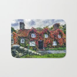 Autumn Cottage Bath Mat
