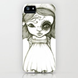 Tattooed Girl iPhone Case