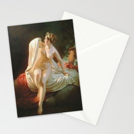 The Bather by Andrey Belloly Stationery Cards