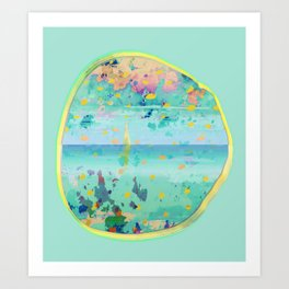 Alissia World B Art Print
