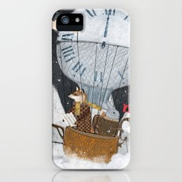 the time balloon iPhone Case