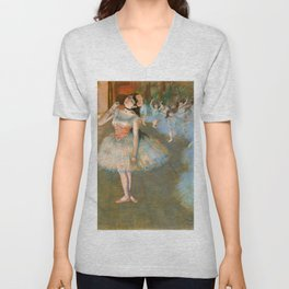 "Edgar Degas ""The Star - The prima ballerina"" Unisex V-Neck"