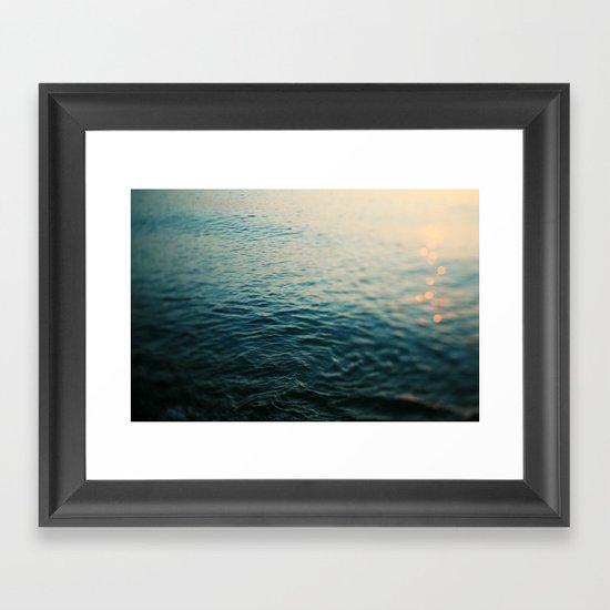 Gleam Framed Art Print